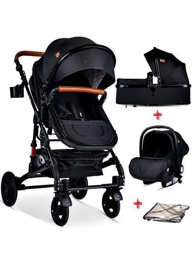 Lorelli Lorelli Alba Travel Sistem Çift Yönlü Amortisörlü Bebek Arabası Renkli